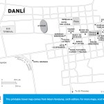 Travel map of Danlí