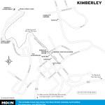 Map of Kimberley, BC
