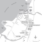 Map of Haleiwa, Hawaii