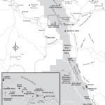 Travel map of Capitol Reef National Park in Utah