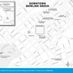 Map of Downtown Bowling Green, Kentucky