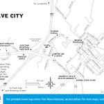 Map of Cave City, Kentucky