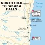 Maps - Hawaiian Islands 1e - Big Island - North Hilo to 'Akaka Falls