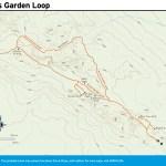 Trail map of Devils Garden Loop