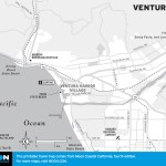 map of Ventura