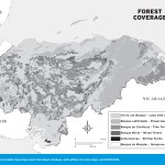 Map of Forest Coverage in Honduras
