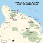 Maps - Hawaiian Islands 1e - Big Island - Hamakua Coast, Waimea, and the Saddle Road