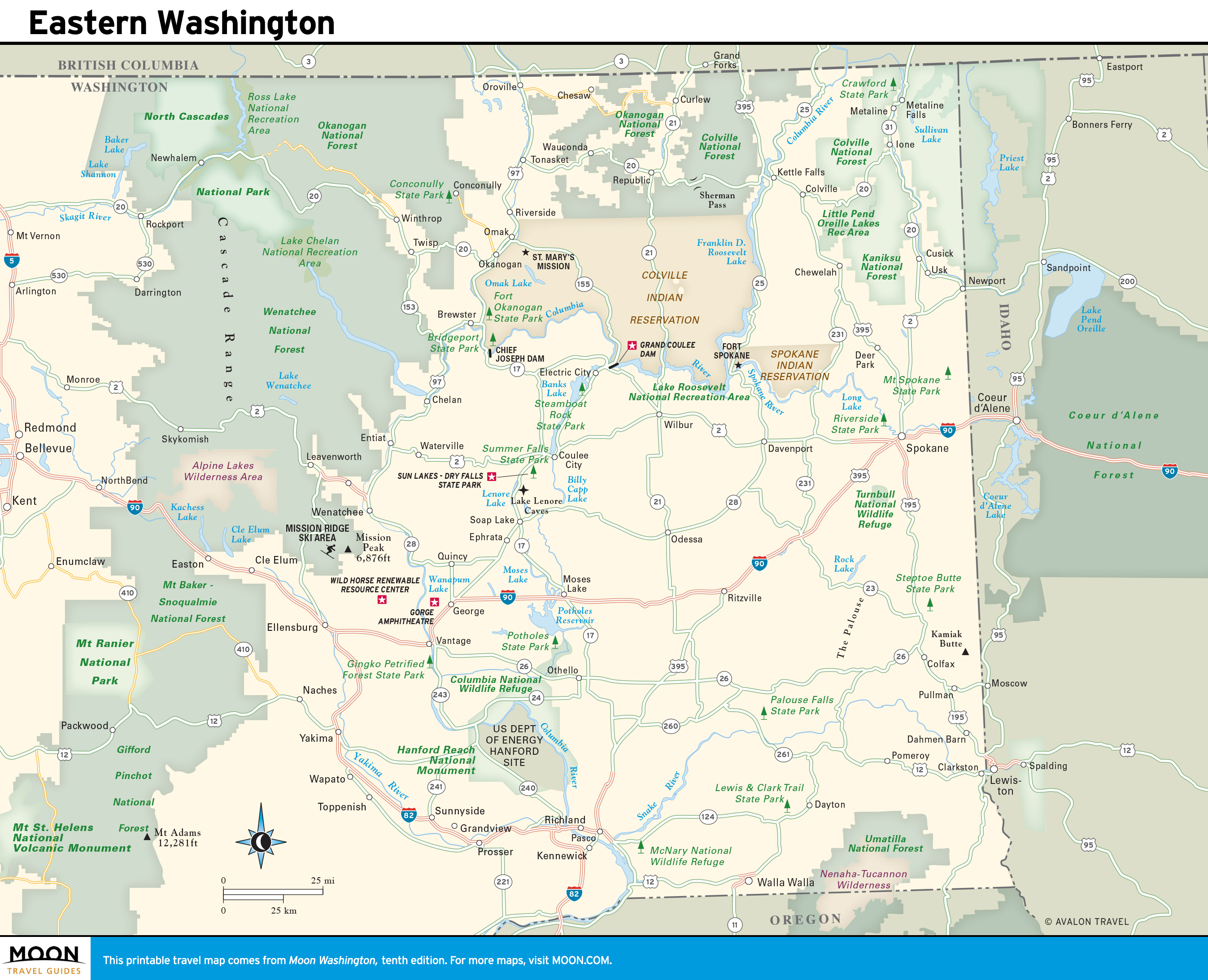 Washington | Moon Travel Guides
