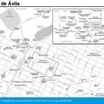 Travel map of Ciego de Ávila, Cuba