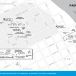 Map of Downtown Paducah, Kentucky
