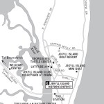 Map of Jekyll Island