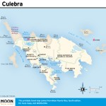Travel map of Culebra, Puerto Rico