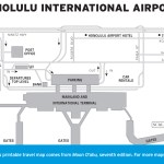 Map of Honolulu International Airport