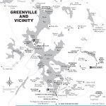 Travel map of Greenville, Maine and Vicinity