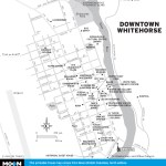 Map of Downtown Whitehorse, YT