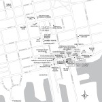 Travel map of Downtown Pensacola, Florida