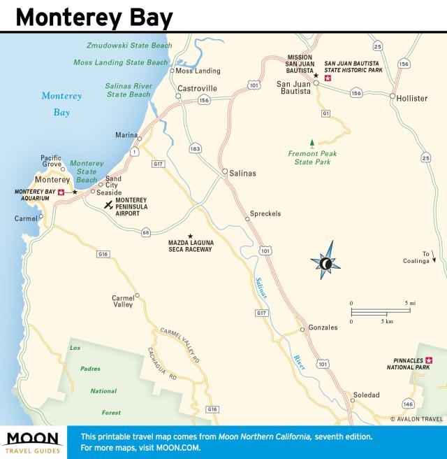 Maps - Northern California 7e - Monterey Bay