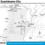 Travel map of Guantánamo City, Cuba