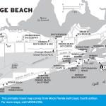 Travel map of Orange Beach, Alabama