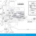 Travel map of Laramie, Wyoming