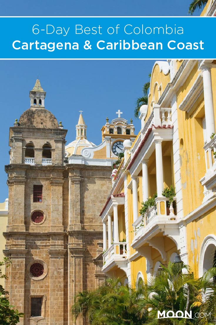 Discover the Best of Columbia: Cartagena and the Caribbean Coast with this 6-Day Travel Itinerary