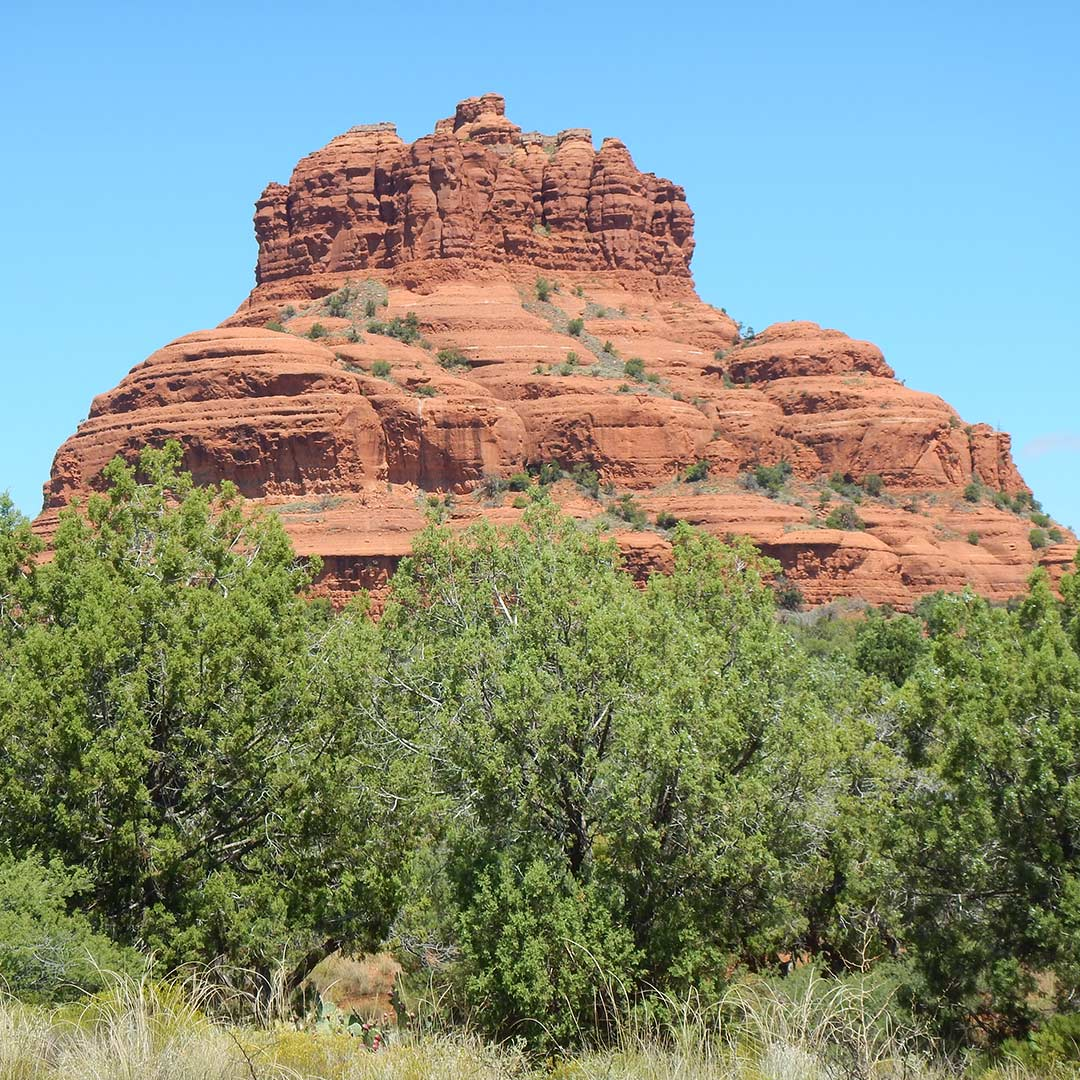 Bell Rock in Sedona, Arizona. Photo © Tim Hull.
