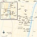 Travel map of Battambang