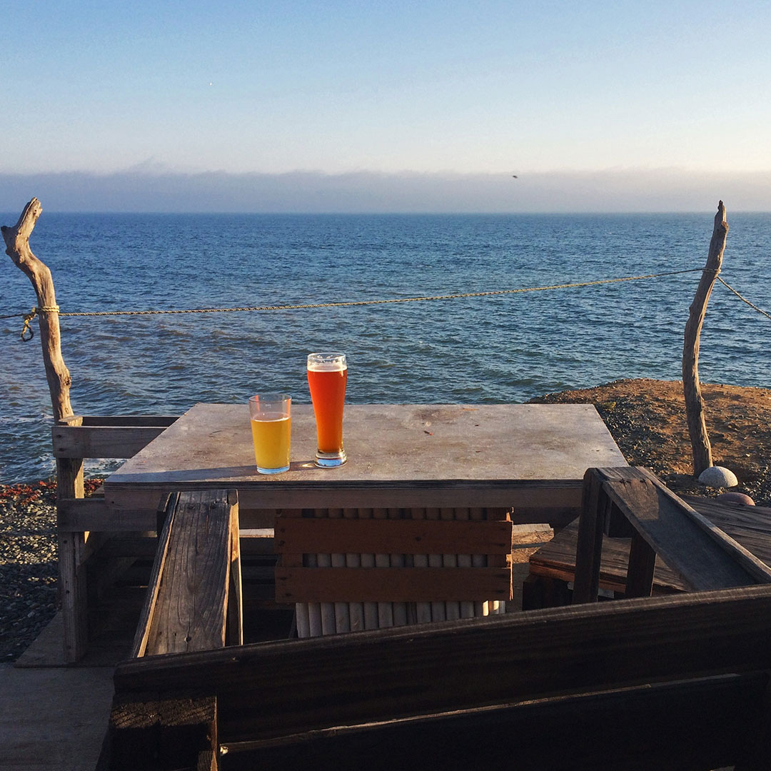 Enjoy Baja brews with a view. Photo © Jennifer Kramer.