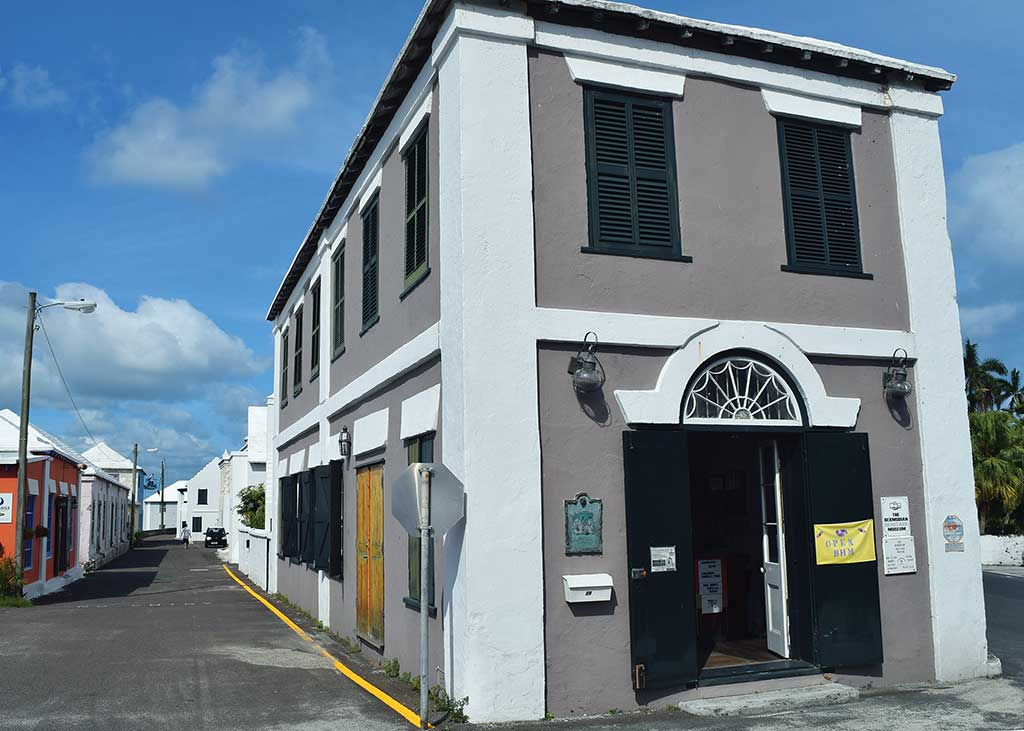 The Bermudian Heritage Museum once belonged to the Grand United Order of Good Samaritans, which aided newly freed blacks before and after their emancipation in 1834. Photo © Rosemary Jones.