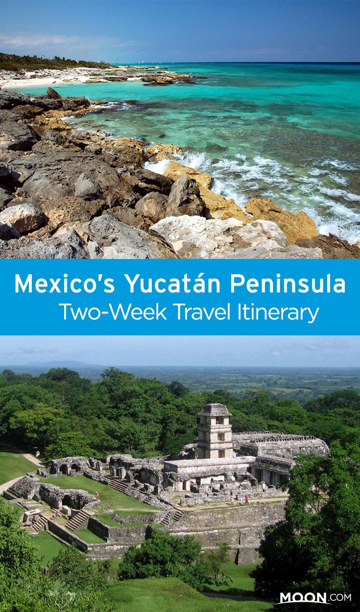 best of yucatan pinterest graphic