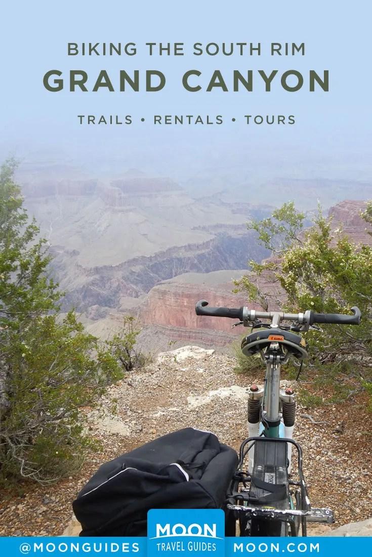 Biking the Grand Canyon Pinterest graphic