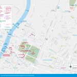 map of Dusit Sights and Attractions