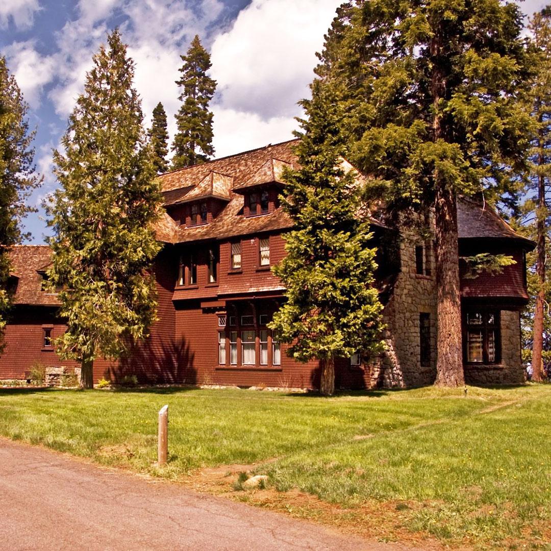 Ehrman Mansion in Sugar Pine Point State Park.