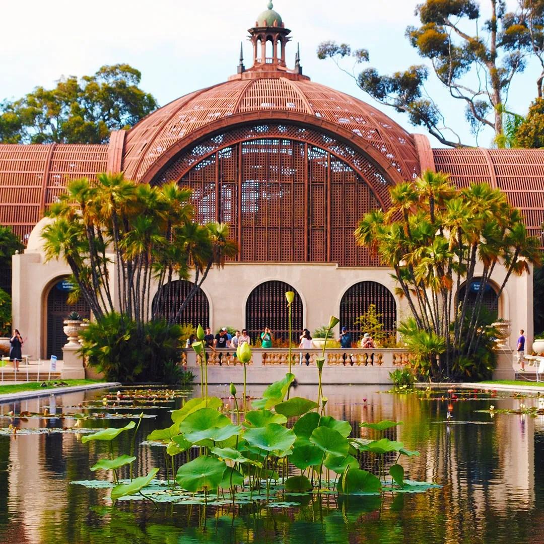 The Botanical Building at Balboa Park.