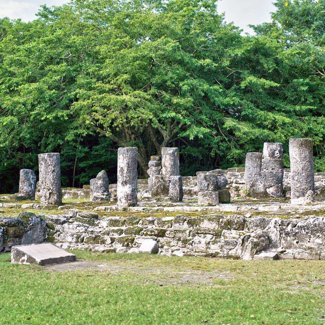 maya ruins of san gervasio