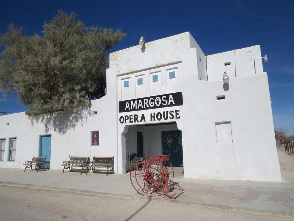The Amargosa Hotel in Death Valley