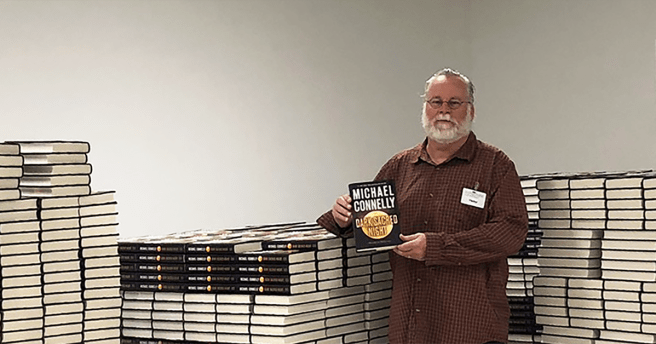 Michael Connelly Signing Dark Sacred Night
