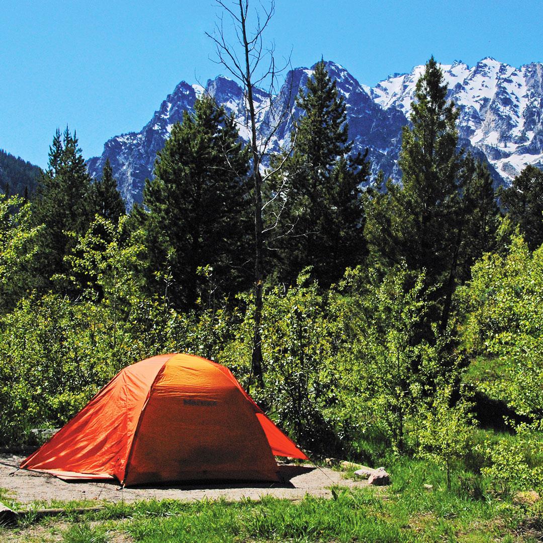 Grand Teton National Park Camping Moon Travel Guides
