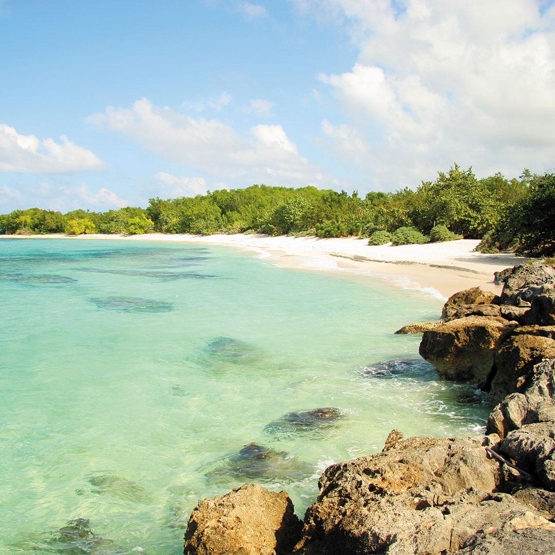 Harmony Cove private beach in Jamaica
