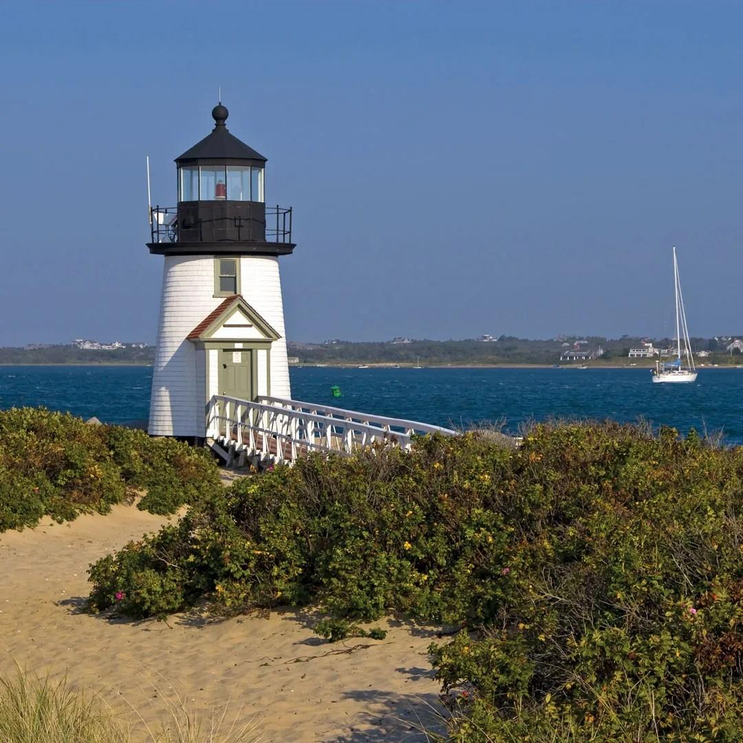 lightouse on the coast of Cape Cod
