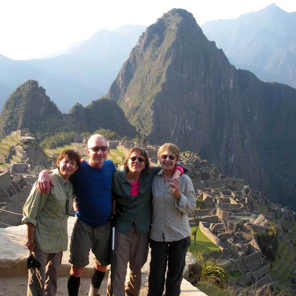 The reward: an amazing view of an ancient Incan city