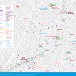 Travel maps of Mexico City's Paseo de la Reforma, Zona Rosa, San Rafael