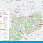 Travel map of Mexico City's Chapultepec and Polanco