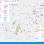 Travel maps of Mexico City's Roma and Condesa