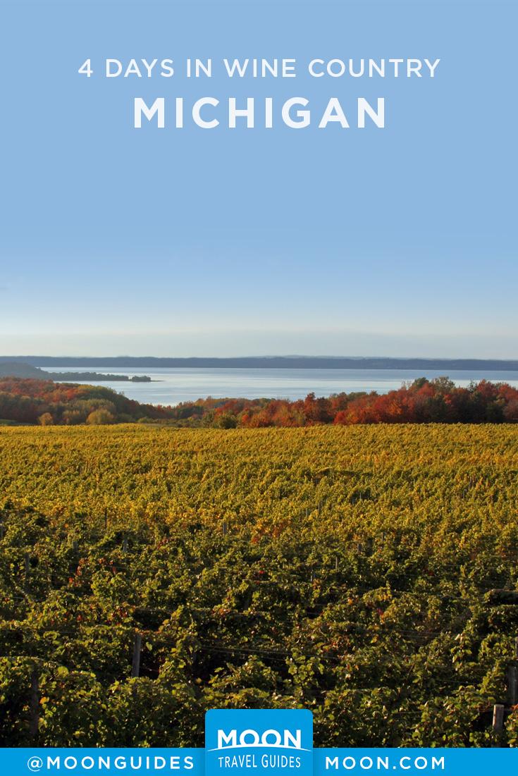 Michigan Wine Country Pinterest graphic