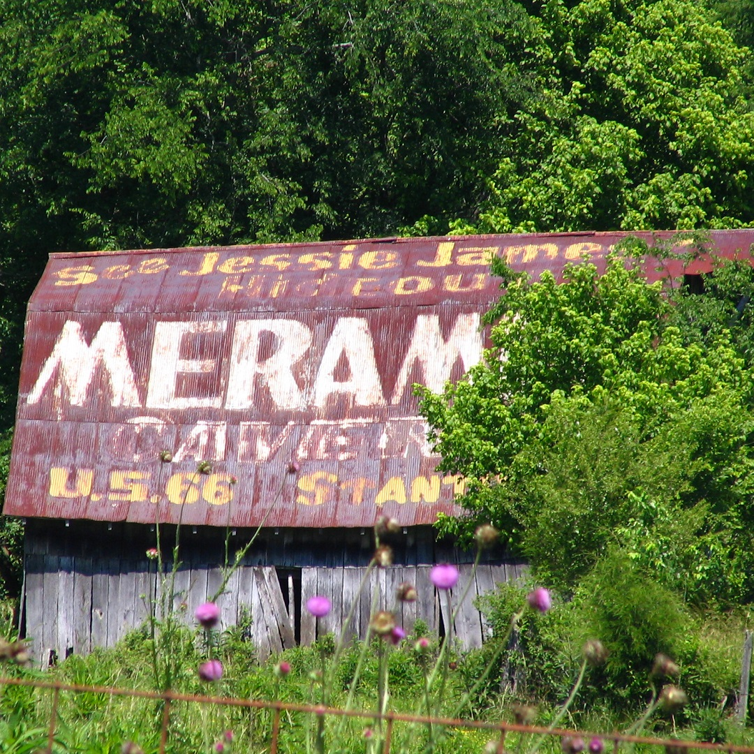 Meramac Caverns Barn in Tennessee