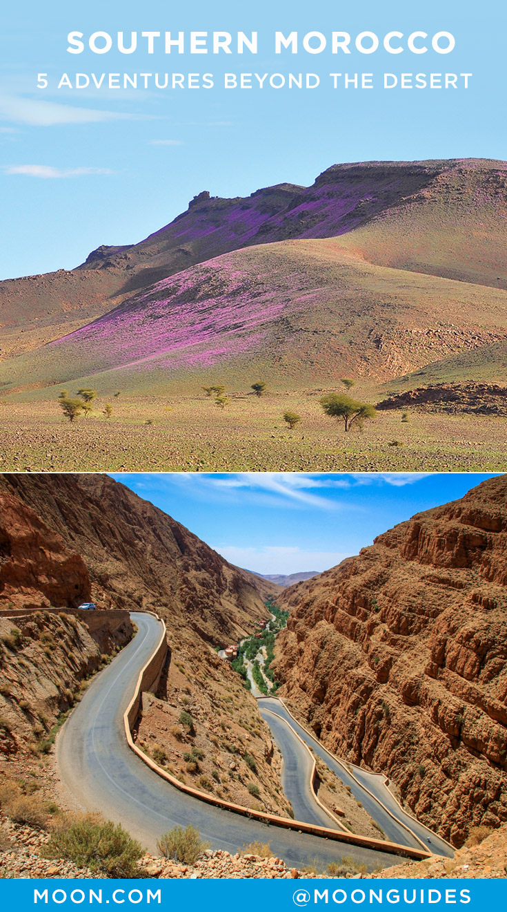 Southern Morocco adventures Pinterest graphic