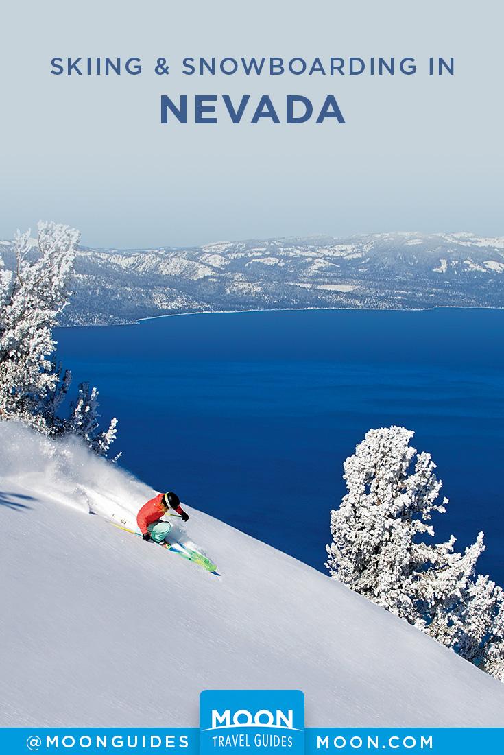 Best Nevada Ski Resorts Pinterest graphic