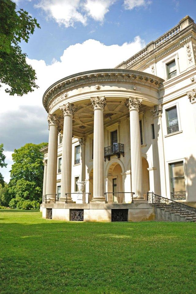 The Vanderbilt Mansion in Hyde Park, New York.