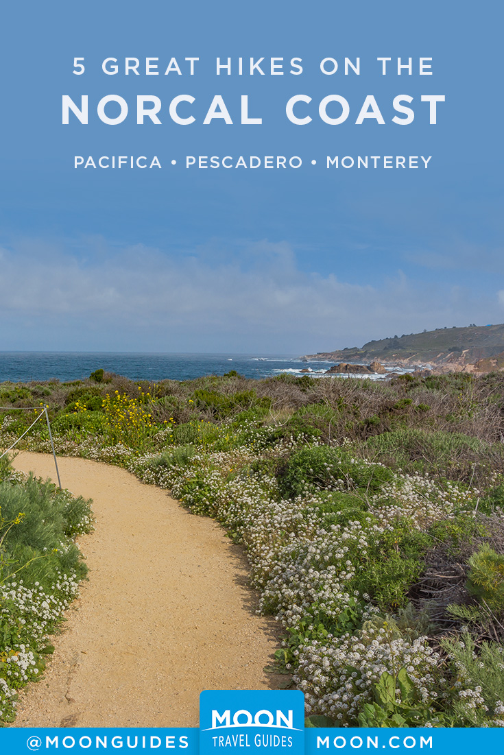 Northern California Coastal Hikes Pinterest graphic